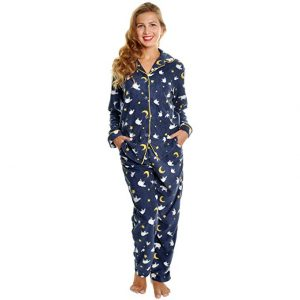 Angelina Women's Cozy Fleece Pajama Set