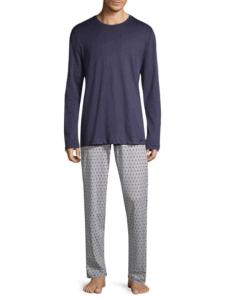 Hanro Two-Piece Cotton Pajama Set