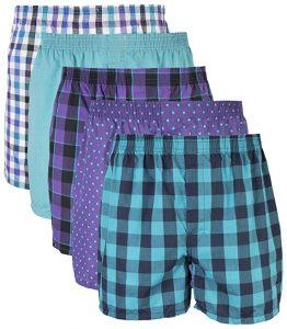 Gildan Woven Boxer Underwear Multipack