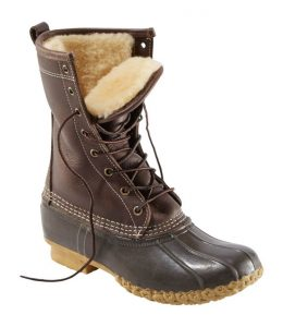 ShearlingLined Bean Boots by LL Bean