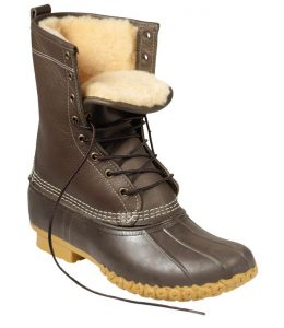 L.L. Shearling-Lined Bean Boots