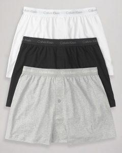 Calvin Klein Cotton Knit Boxer