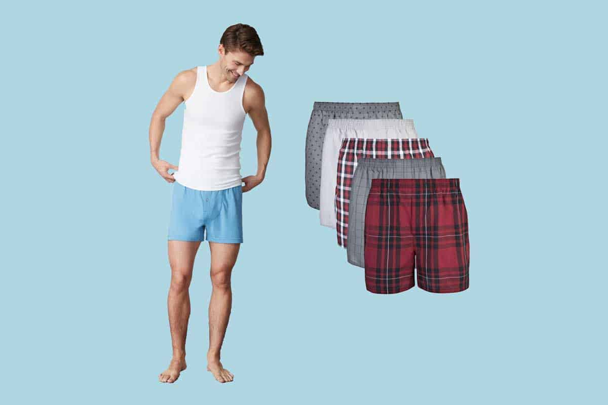 10 of the Most Comfortable Men's Boxer Shorts
