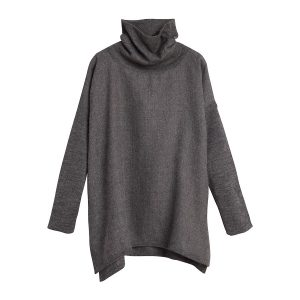 Cuyana Baby Alpaca Oversized Turtleneck Sweater