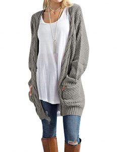 Grecelelle Boyfriend Cardigan Sweater i