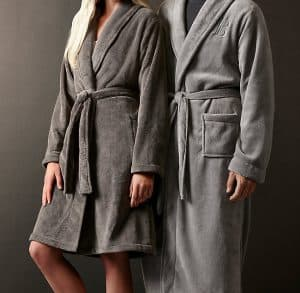 Restoration Hardware Luxury Plush Long Robe