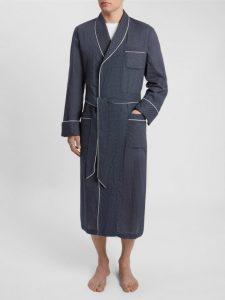 Derek Rose Men's Piped Robe