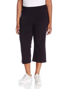 Jockey Women's Activewear Cotton Stretch Flare Capri