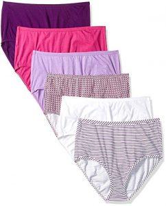 Fruit of the Loom Women's Underwear Cotton Brief Panty