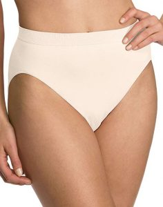 Bali Comfort Revolution Seamless High-cut Brief Panty