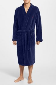 Polo Ralph Cotton Fleece Robe