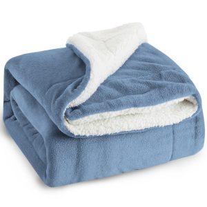 Bedsure Sherpa Fleece Throw