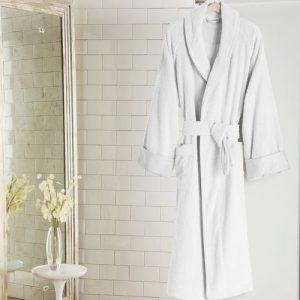 Frette Unito Shawl Collar Bath Robe