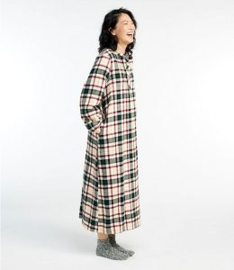 L.L Bean Scotch Plaid Nightshirts