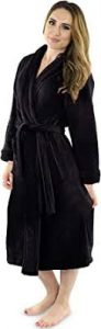 NY Threads Womens Fleece Bathrobe