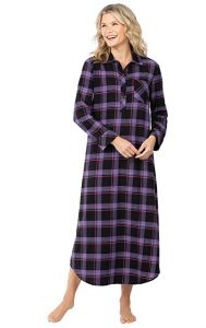 PajamaGram Women's Flannel Nightgown