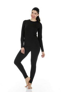 Thermajane Women's Ultra Soft Thermal Underwear Set