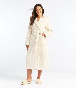 L.L Bean Winter Wicked Plush Robe