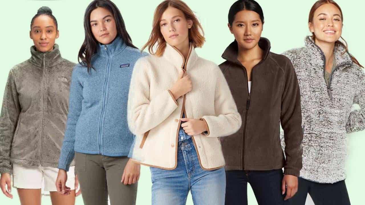 Five examples of the most comfortable women's fleece jackets