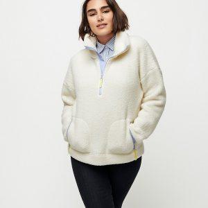 J Crew Polartec® Fleece Half-zip Pullover Jacket