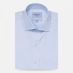 Ledbury The Fine Twill Spread Dress Shirt