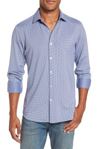 Mizzen + Main Trim Fit Men's Button-Down