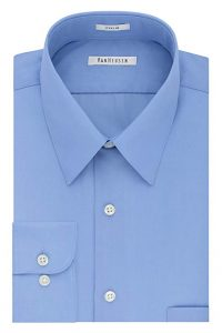 Van Heusen Men's Poplin Regular Fit