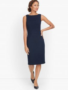 Talbot's Knit Tweed Sheath Dress