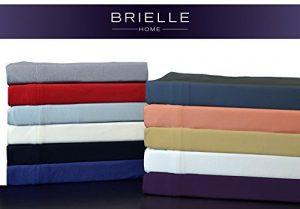 Brielle 100-Percent Modal from Beech Jersey Knitted Sheet Set