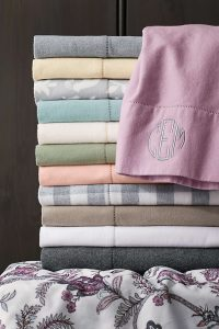 Lands' End 6oz Supima Flannel Sheet Set