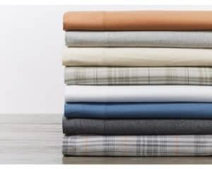 Cloud Brushed Organic Flannel Set