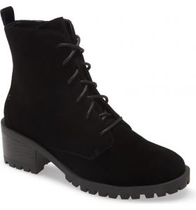 Keaton Water Resistant Lace-Up Bootie