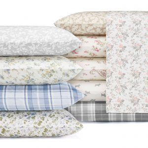 Laura Ashley Cotton Flannel Deep Pocket Sets