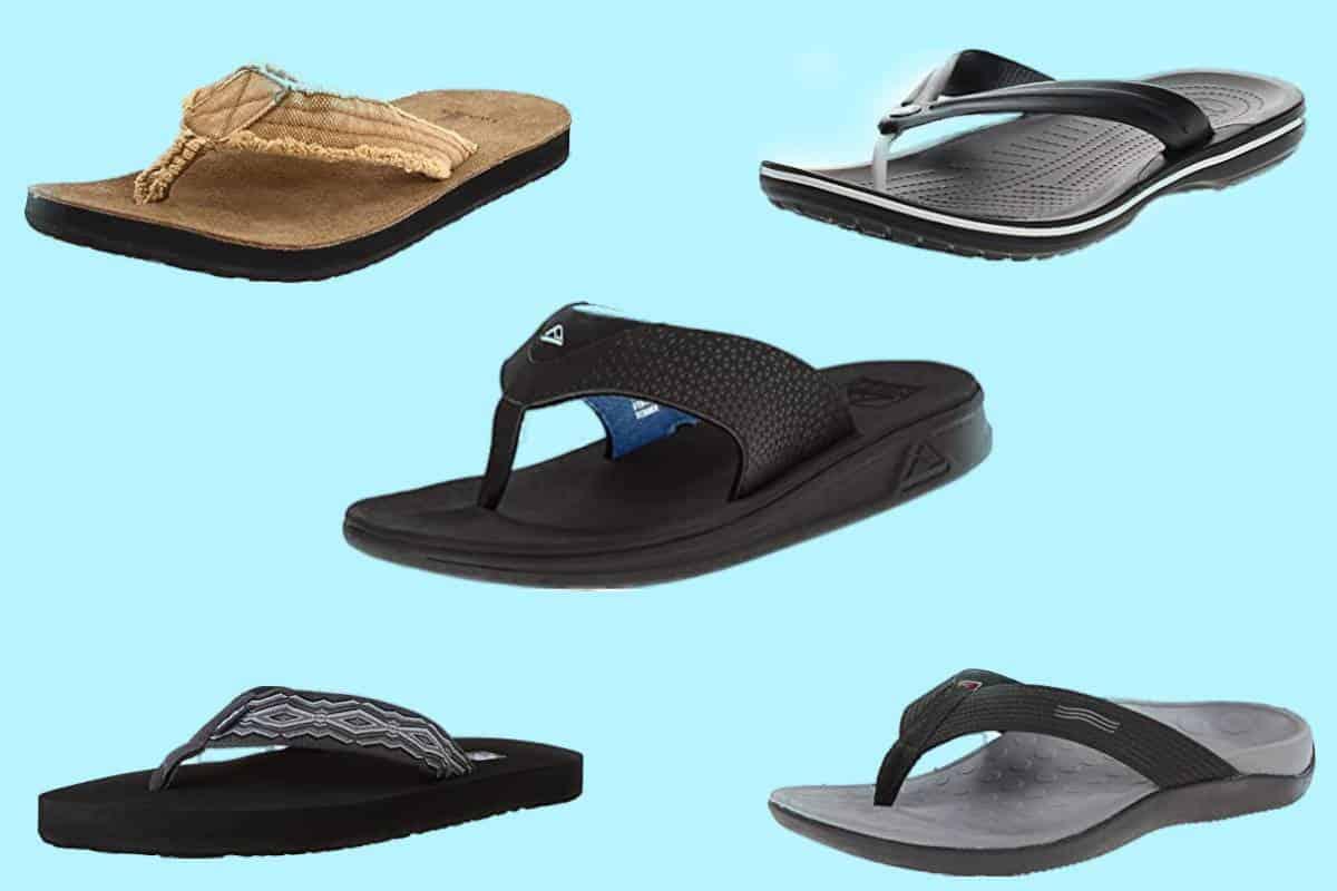 The Most Comfortable Men's Flip Flops