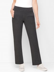 Talbots Pima Terry Relaxed Leg Pants