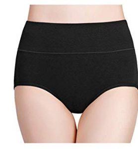 Wirarpa High-Waisted Cotton Underwear