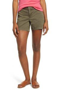 Calson Cotton Twill Shorts