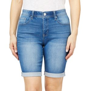 Angels Forever Young 360 Sculpt Bermuda Jean Shorts