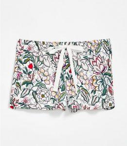 Loft Floral Sleep Shorts