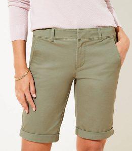 Loft Bermuda Shorts