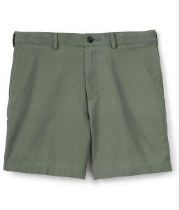 "Lands' End Men's Comfort Waist 6"" No Iron Chino Shorts"