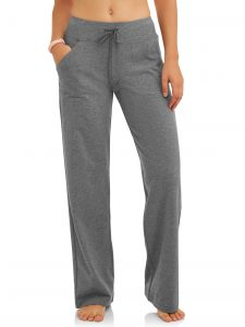 Athletic Works Athleisure Relaxed Fit Yoga Pants