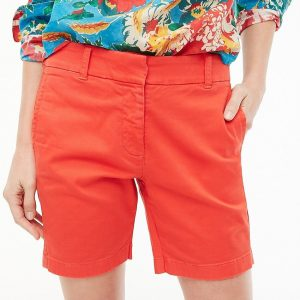 J Crew's stretch chino shorts