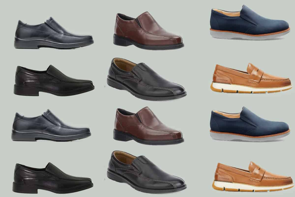 Tweleve of most comfortable men's loafers in various colors and design styles
