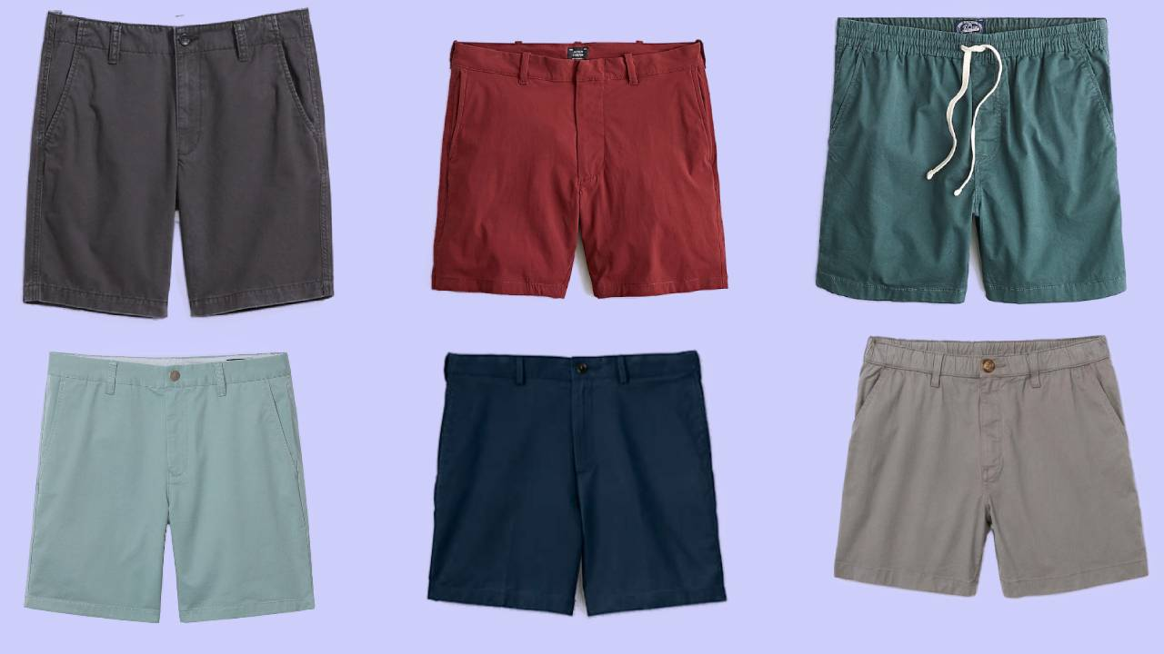 Six of the most popular shorts for men known to be comfortable