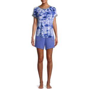 Secret Treasures Women's and Women's Plus Top and Shorts Pajama