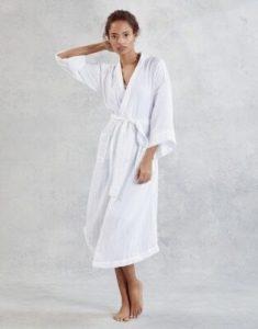 Double Cotton Long Robe