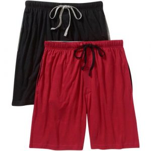 Hanes Men's 2-pack ComfortSoft Jersey Knit Sleep Short