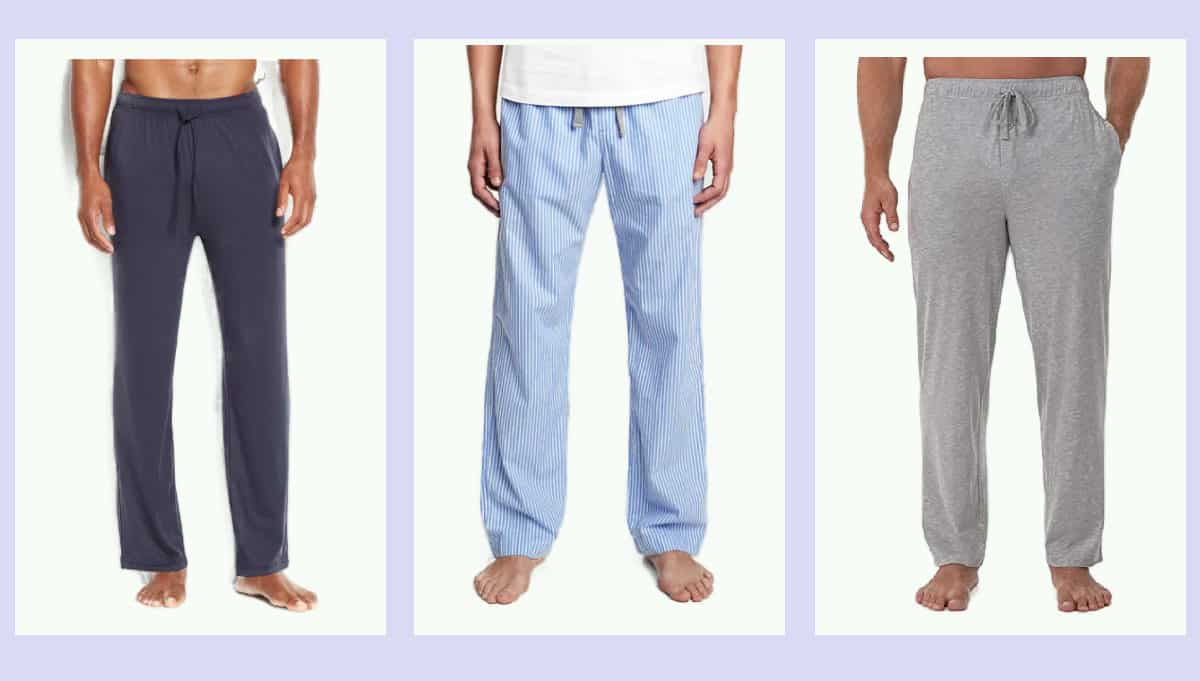 Three of the most comfortable Lightweight PJ Pants for Men