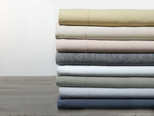 Coyuchi Relaxed Linen Sheet Set